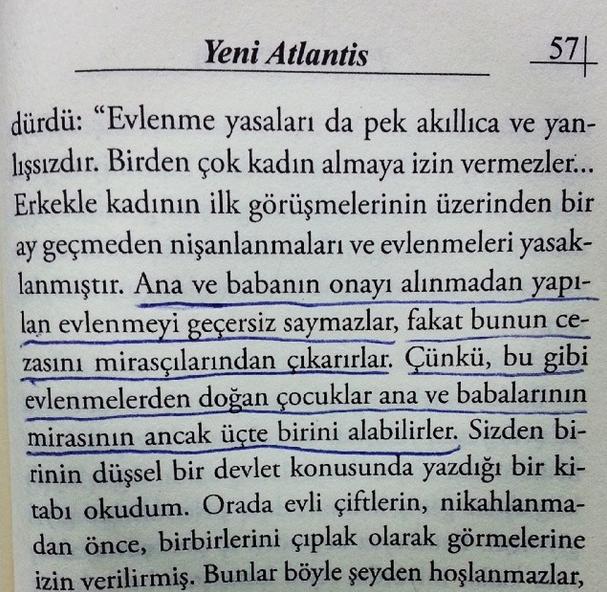 Francis Bacon Yeni Atlantis fikir