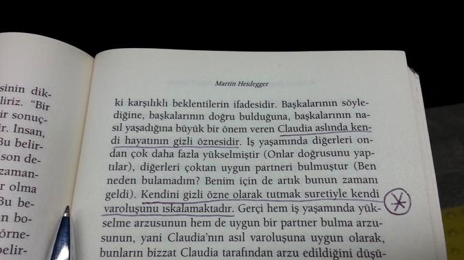 Heidegger Varoluş