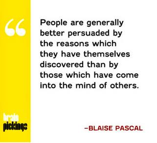Blaise Pascal ikna sanatı
