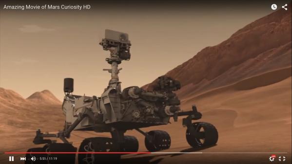 mars curiosity car